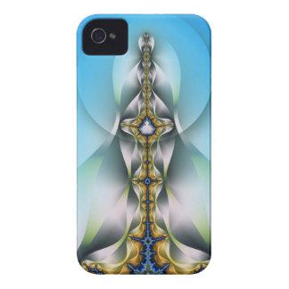 El caso abstracto fantasma, artístico del iPhone 4 Case-Mate iPhone 4 Cobertura