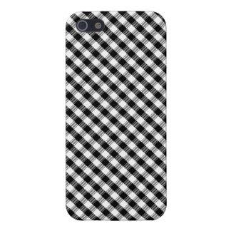 "el caso ""Black&White"" del iPhone 5 ajustó Var01 iPhone 5 Carcasas"