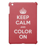 el caso cabido iPad guarda calma y la colorea en r