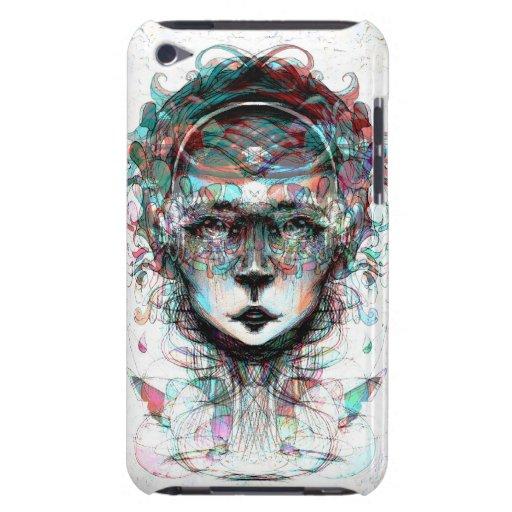 El caso de Barely There del tacto de iPod de la te iPod Touch Case-Mate Cárcasas