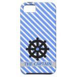 El caso de capitán Thin Lines Design iPhone 5 Cobertura