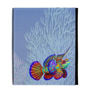 El caso de Caseable del iPad de los pescados del g