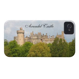 El caso de encargo del iphone 4 del castillo de Ar iPhone 4 Carcasas