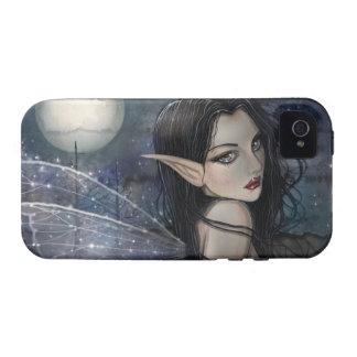 El caso de hadas del iPhone de la noche gótica Wit iPhone 4/4S Carcasas