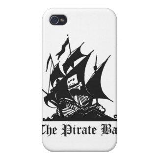 El caso de Iphone de la bahía del pirata iPhone 4 Cobertura
