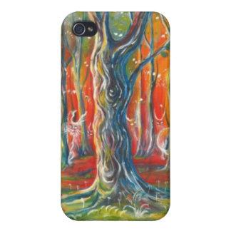 El caso de Iphone del árbol iPhone 4 Funda