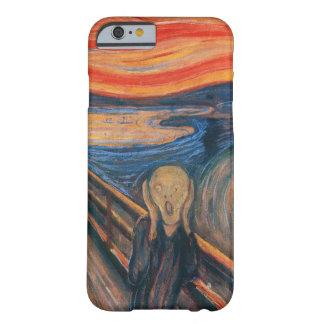 El caso del arte del grito funda barely there iPhone 6