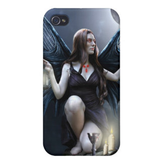 El caso del encargado Iphone4 de la noche iPhone 4/4S Carcasas