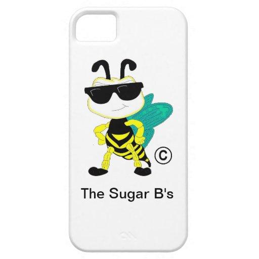 El caso del iPAD del azúcar el b iPhone 5 Protectores