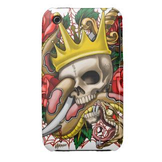 El caso del iphone 3 del rey iPhone 3 fundas