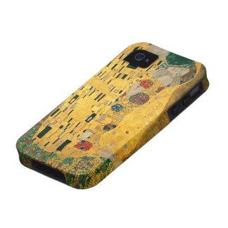 El caso del iPhone 4/4S de la bella arte del beso  Case-Mate iPhone 4 Carcasa