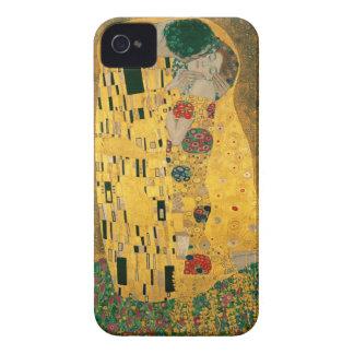 El caso del iPhone 4/4S de la bella arte del beso  iPhone 4 Case-Mate Fundas