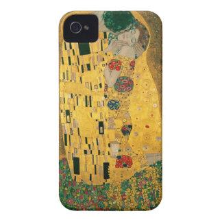 El caso del iPhone 4/4S de la bella arte del beso  iPhone 4 Case-Mate Funda