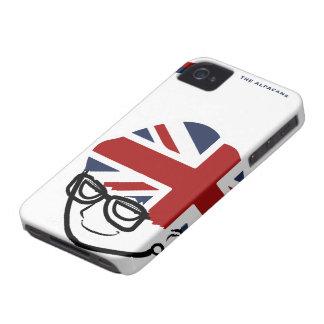 El caso del iPhone 4/4S del británico (blanco) iPhone 4 Funda