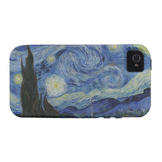 El caso del iPhone 4 de la casamata de la noche es iPhone 4 Carcasas
