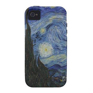 El caso del iPhone 4 de la casamata de la noche es Vibe iPhone 4 Carcasas
