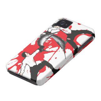 El caso del iPhone 4 de la lucha de la espada Case-Mate iPhone 4 Protectores