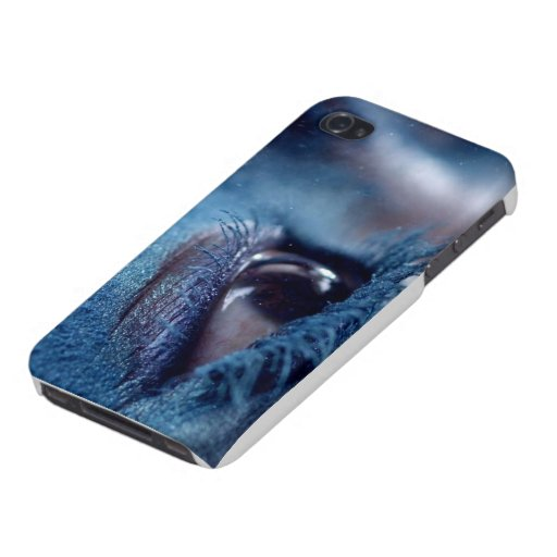 El caso del iphone 4 del ojo iPhone 4 carcasa