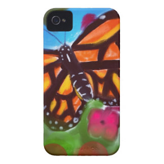 El caso del iPhone 5 de la mariposa con la cámara Case-Mate iPhone 4 Fundas