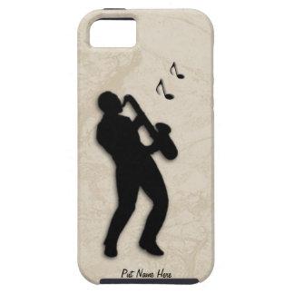 El caso del iPhone 5 del jugador de saxofón Funda Para iPhone 5 Tough