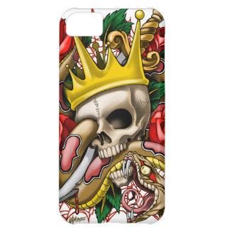 El caso del iPhone 5 del rey Funda Para iPhone 5C