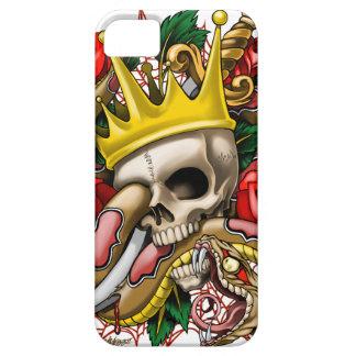 El caso del iPhone 5 del rey iPhone 5 Funda