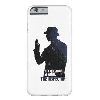 El caso del iPhone 6 del inspector Funda De iPhone 6 Barely There