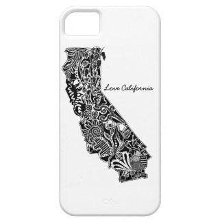 """El caso del iPhone de California del amor"" iPhone 5 Carcasa"