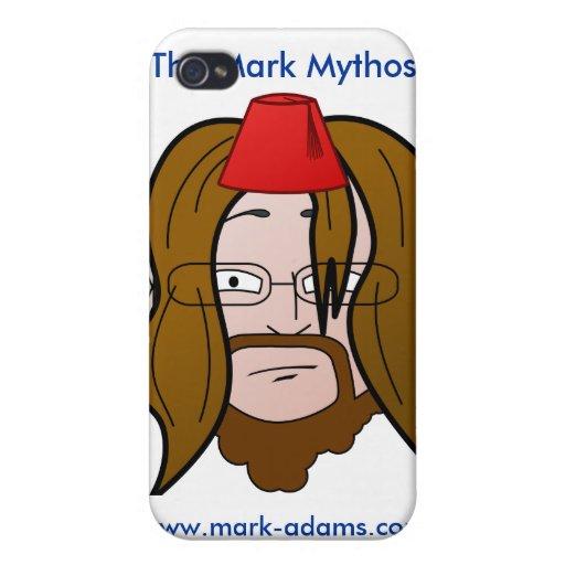 El caso del iPhone de Mythos de la marca iPhone 4 Coberturas
