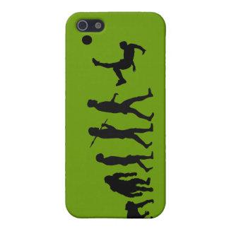 El caso del iPhone del fútbol se divierte la evolu iPhone 5 Carcasa