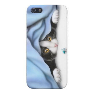 El caso del iPhone del gato del gatito del iPhone 5 Carcasa