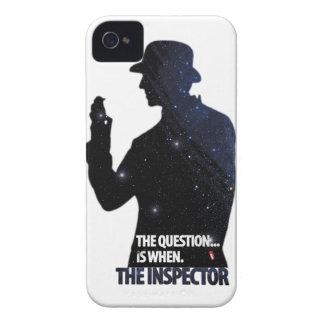 El caso del iPhone del inspector Case-Mate iPhone 4 Fundas