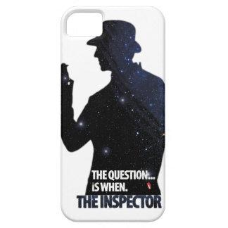 El caso del iPhone del inspector iPhone 5 Funda