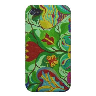 el caso del iphone impresión de la bella arte se iPhone 4 carcasa