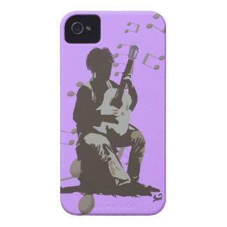 El caso del músico funda para iPhone 4
