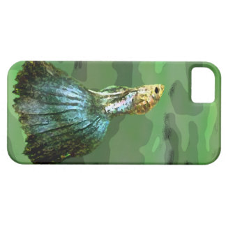 El caso del pescado tropical para el caso del iPhone 5 Case-Mate protectores