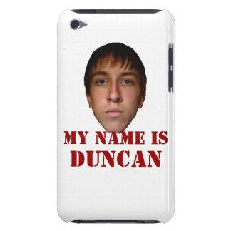 el caso del tacto de iPod, mi nombre es Duncan 201 iPod Touch Protectores