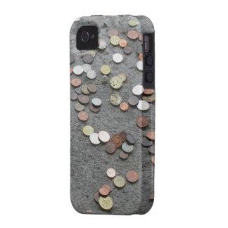 el caso dinero del iPhone hace que el mundo va al Case-Mate iPhone 4 Fundas