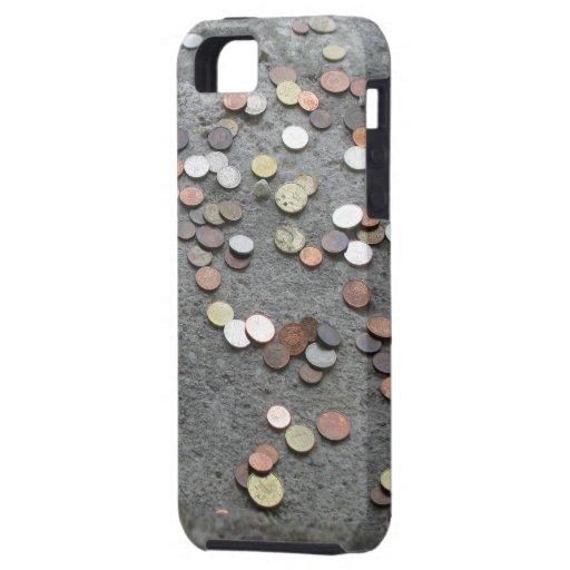 """el caso """"dinero del iPhone hace que el mundo va Funda Para iPhone 5 Tough"""