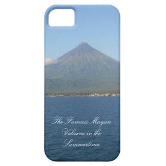 El caso famoso del iPhone 5 del Monte Mayon iPhone 5 Funda