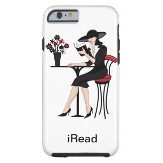 El caso instruido del iPhone 6 de la mujer Funda Resistente iPhone 6