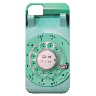 el caso iphone5 - llámeme teléfono de dial rotator iPhone 5 protector
