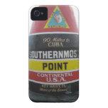 El caso más situado más al sur del iphone del punt iPhone 4 protector