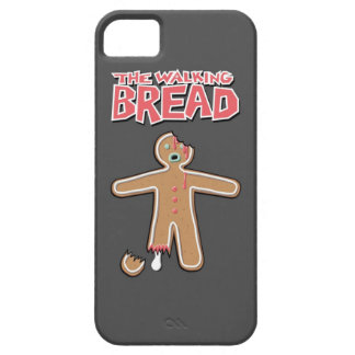 El caso muerto del iphone del hombre de pan de iPhone 5 carcasas