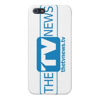 El caso oficial del iPhone de las noticias de la T iPhone 5 Carcasas