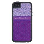 el caso Ogees púrpura de Xtreme del iPhone 5, iPhone 5 Funda