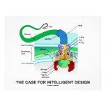 El caso para el diseño inteligente (flagelo) flyer a todo color