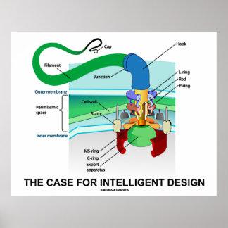 El caso para el diseño inteligente (flagelo) póster