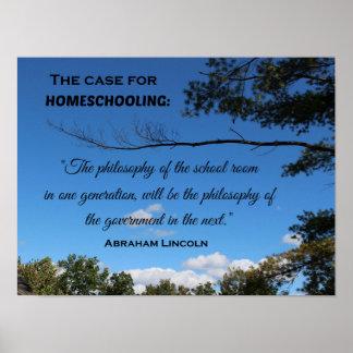 El caso para Homeschooling. Póster