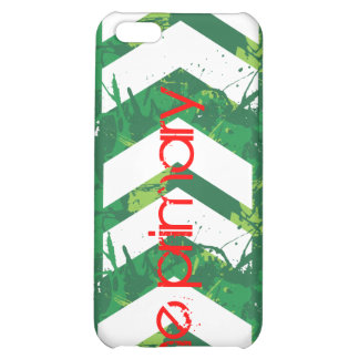 El caso primario del iPhone 4 chapoteo verde
